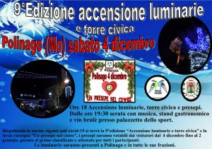 9° edizione accensione luminarie
